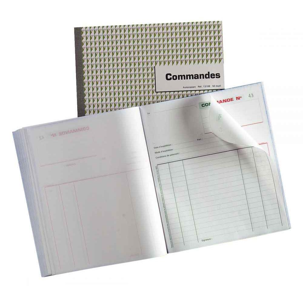 MANIFOLD COMMANDES NCR 21 X 18 CM 50 TRIPLICATAS