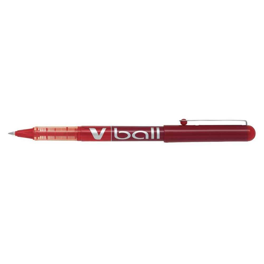 ROLLER V-BALL 0,5 MM ROUGE