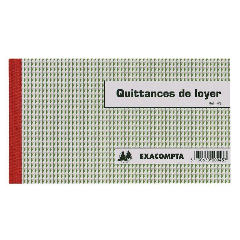 MANIFOLD QUITTANCES DE LOYER 12,5 X 21 CM 50 TRIPLICATAS